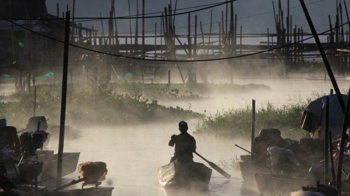 Danau Tondano Bagi Warga Pesisir, Selain Objek Wisata Juga Sebagai Penopang Perekonomian