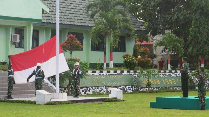 Dandim 1303/Bolmong Bacakan Amanat Panglima TNI Terkait Penyelenggaraan Pemilu 2019