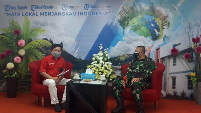 Danlantamal VIII Brigjen I Wayan Ariwijaya Ceritakan Soal Program AL saat Covid-19