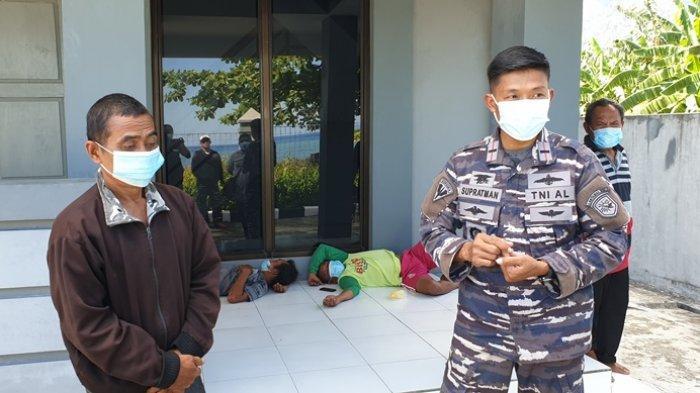 Hanyut Dua Hari, Lima Nelayan Asal Bitung Terdampar di Pulau Siau Kabupaten Sitaro