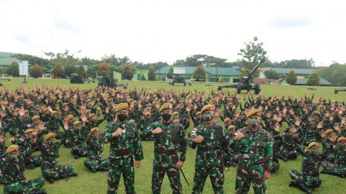 Danpussenarmed Kodiklatad Pantau Alutsista dan Prajurit di Batalyon Armed 18/Komposit Buritkang