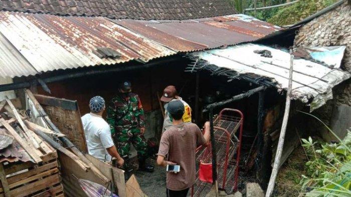 Setelah Nyalakan Rokok, Kompor Gas Lupa Dimatikan, Rumah Hampir Ludes Terbakar, Kejadian di Jateng