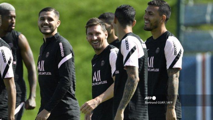 Link Live Streaming Reims vs PSG: Debut Lionel Messi dan Sergio Ramos, Neymar dan Mbappe Tampil