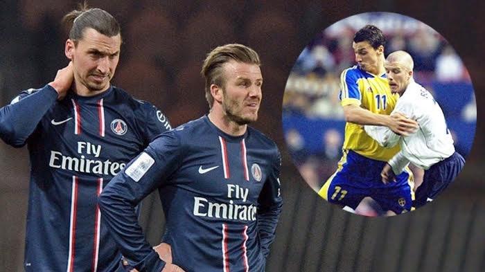 Setelah Kemenangan Inggris, David Beckham Unggah Foto Zlatan Ibrahimovic, Tagih Hasil Taruhan?