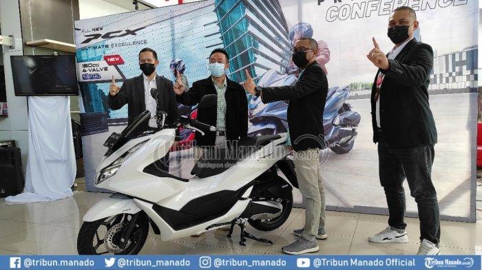 DAW Kenalkan All New Honda PCX160 untuk Masyarakat Sulut, Harga Mulai Rp 32,4 Juta