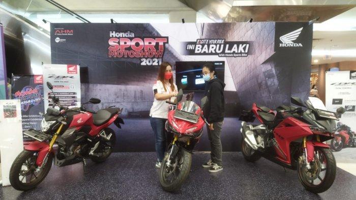 DAW Gelar Pameran Motor Sport Honda di Megamall Manado, CBR250RR Diskon Rp 5,5 Juta