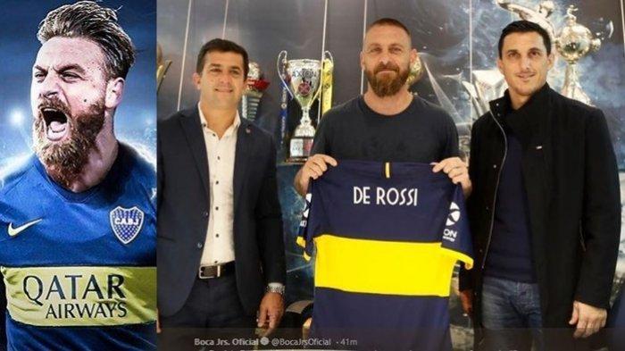 Mantan Klub Maradona jadi Pelabuhan De Rossi Lanjutkan Karier Selama Satu Musim