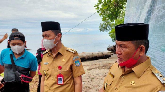 Wabup Bolsel Deddy Abdul Hamid Minta Nelayan Jangan Dulu Melaut