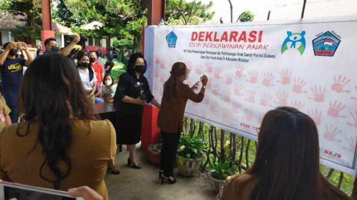 Sulut Masuk Peringkat 11 Nasional Perkawinan Anak, Kabupaten Minahasa Sumbang 6 Persen