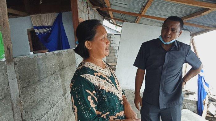 Banjir Hantam Pesisir Lolak, Delapan Rumah Hancur, Perahu Hanyut, Tenda Wisata Rusak