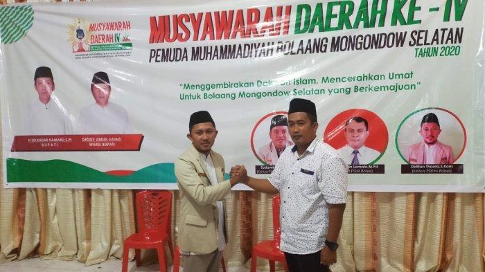 Delfian Thanta Kembali Nahkodai Pemuda Muhammadiyah Bolsel