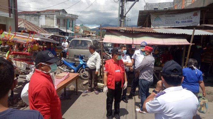 Demi Memutus Mata Rantai Virus Corona, Pemkab Minahasa Batasi Oprasional Pasar