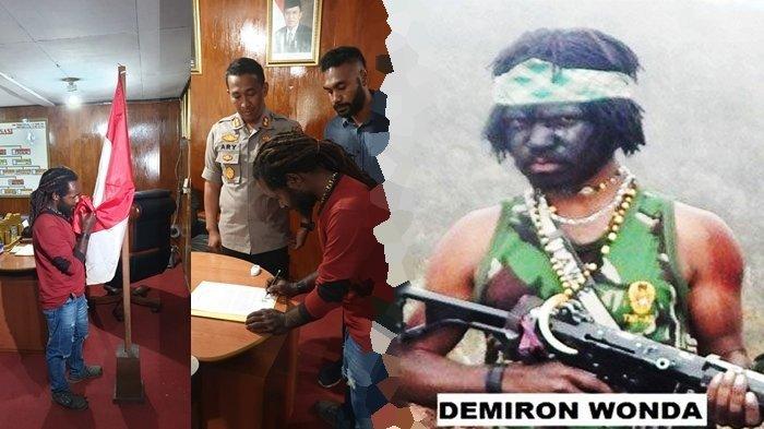 BERITA TERBARU: Pimpinan KKB Papua Menyerahkan Diri, Kembali ke Pangkuan NKRI, Cium Saka Merah Putih