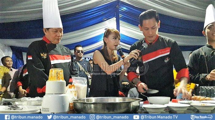 Wali Kota Vicky dan Chef Juna Masak Tuna Gorang Woku