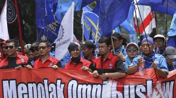 Buruh Ancam Aksi Besar-besaran Jika Omnibus Law Disahkan