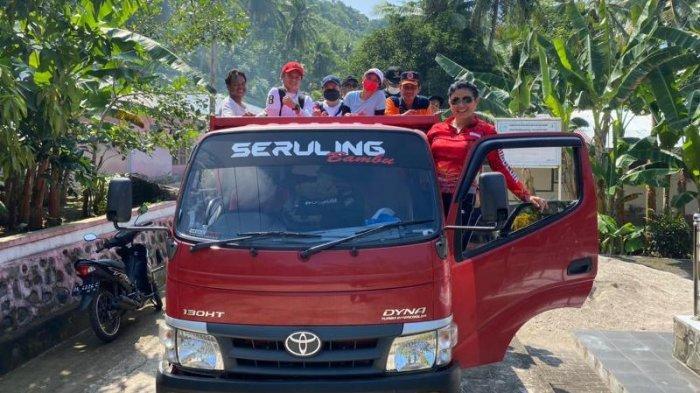 Bupati Evangelian Sasingan Gelar Monitoring Pekerjaan Fisik dan Vaksinasi di Pulau Makalehi