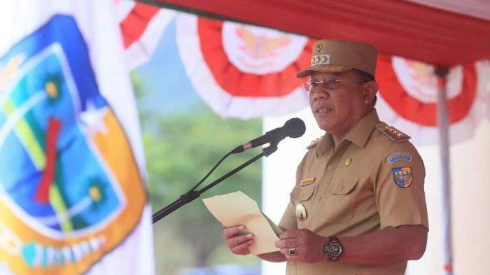 Pimpin Apel ASN, Bupati Depri Pontoh Kukuhkan 234 ASN Dalam Pengambilan Sumpah Jabatan