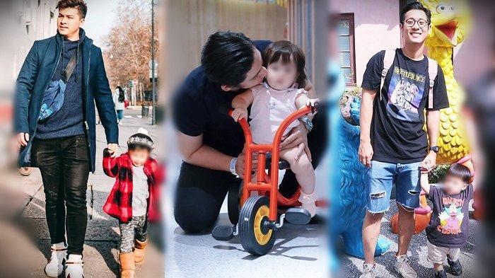 Tak Mau Pakai Jasa Babysitter, 8 Pasangan Artis Ini Pilih Urus Anaknya Sendiri