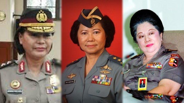 Deretan Jenderal Wanita Hebat Milik TNI/Polri, dari Christina Rantetana hingga Basaria Panjaitan