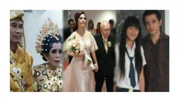 Deretan Pernikahan Beda Usia, Nomor 8 Pacaran Sejak Masih SMP, Nomor 10 Sampai Bikin Undangan Ngakak