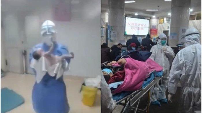 Video Menegangkan Bayi Dijauhkan Dokter Pasca Melahirkan, Ibunya Diduga Terdeteksi Virus Corona