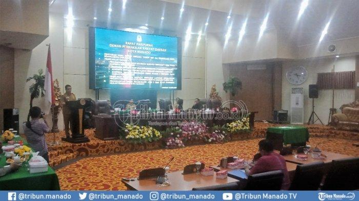 Dewan Kritisi Pemkot Manado soal Banjir di Rapat Paripurna