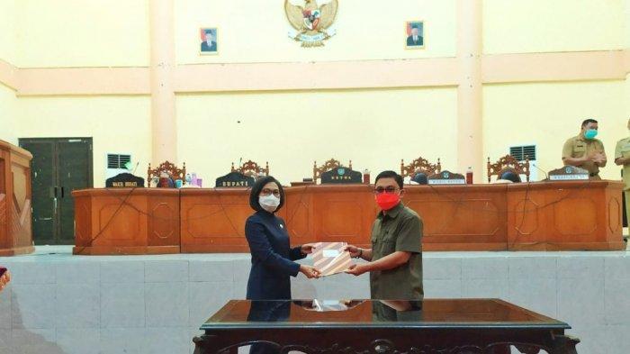 Dewan Perwakilan Rakyat Daerah (DPRD) Kabupaten Bolaang Mongondow (Bolmong) menggelar rapat paripurna bersama Pemkab Bolmong, Sulawesi Utara.
