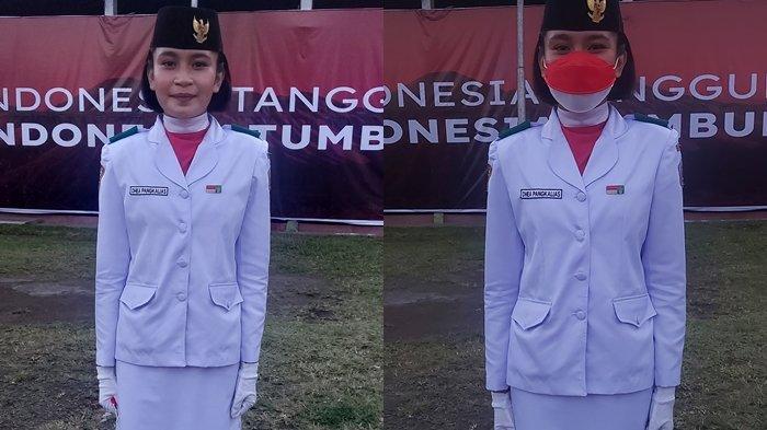 Anggota Paskibraka Kota Bitung Dhea Fhadila Pangkalias: Senang, Terharu Campur Bangga