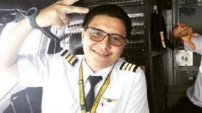 Diego Mamahit, Co Pilot Swriwijaya Air