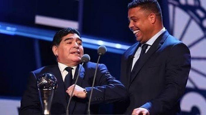 Diego Maradona Sering Terlihat Pakai Dua Jam Tangan, Alasannya Diungkap Legenda Brasil Ronaldo