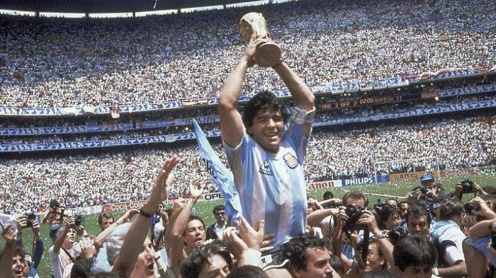 Berminat Miliki Jersey Maradona Saat Cetak Gol 'Si Tangan Tuhan'? Berikut Harganya