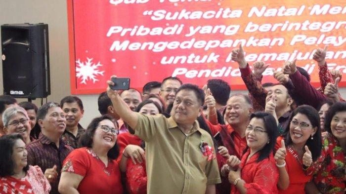 Dikda Gelar Ibadah Pra Natal, Gubernur Olly: Natal Peristiwa Cinta Kasih