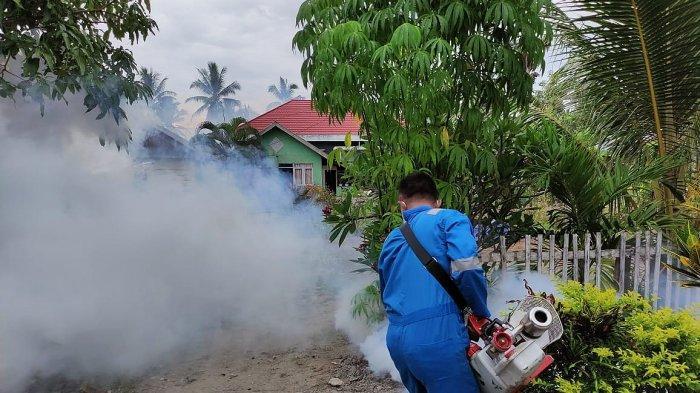 Dinkes Bolmut Lakukan Fogging di Sejumlah Desa, Temukan 6 Kasus Positif DBD