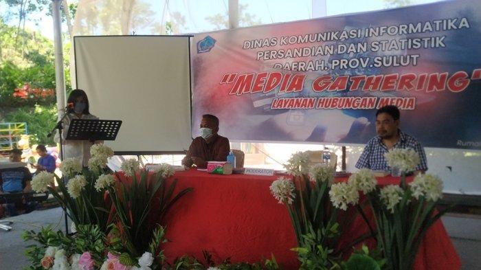 Dinas Kominfo Gelar Media Gathering, Pers Liputan Kantor Gubernur Kumpul di Rumah Alam
