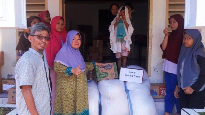 Dikbud Bolmut Salurkan Bantuan Korban Banjir di Manado, Mokodompis: Ini Bentuk Kepedulian Kami