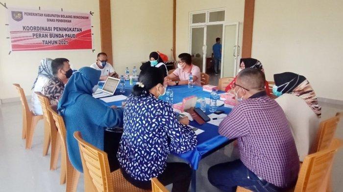 Dinas Pendidikan Bolmong Fokus Tingkatkan Kualitas Bunda PAUD