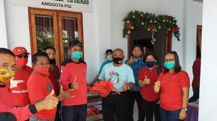 Dinas Sosial Sulut Salurkan Bantuan Sosial di Pulau Lembeh Bitung