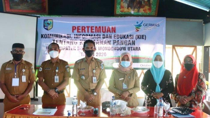 Dinkes Bolmut Sosialisasikan Bahaya Pangan di Kecamatan Kaidipang dan Bolangitang