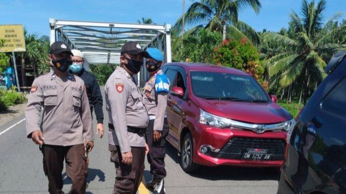 Perbatasan Sulut-Gorontalo Diperketat, Warga Suhu di Atas 37 Derajat Ditahan di Posko Perbatasan
