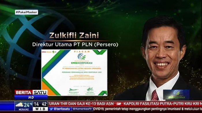 Direktur Utama PT PLN, Zulkifli Zaini.