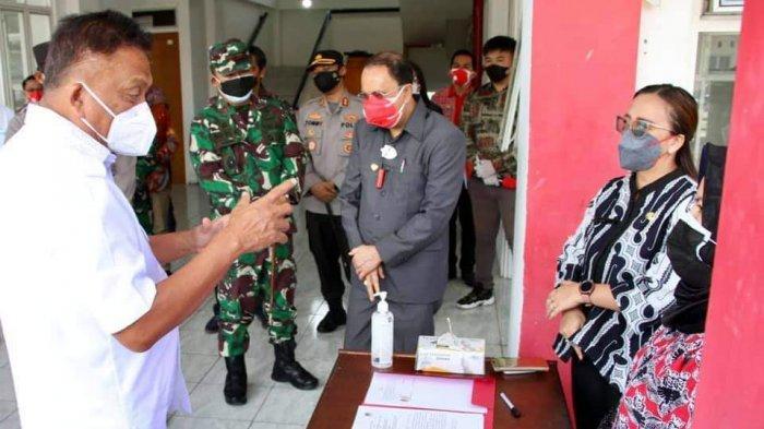 Olly Dondokambey dan Steven Kandouw Kumpul Dirut RSUD di Sulut