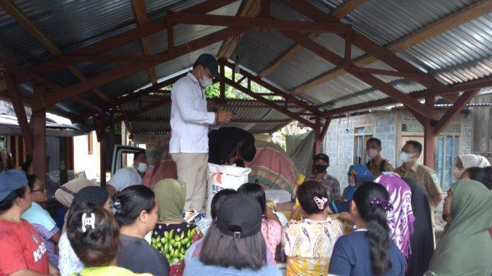 Dinas Perdagangan dan ESDM Bolmong Gelar Operasi Pasar Bahan Pokok