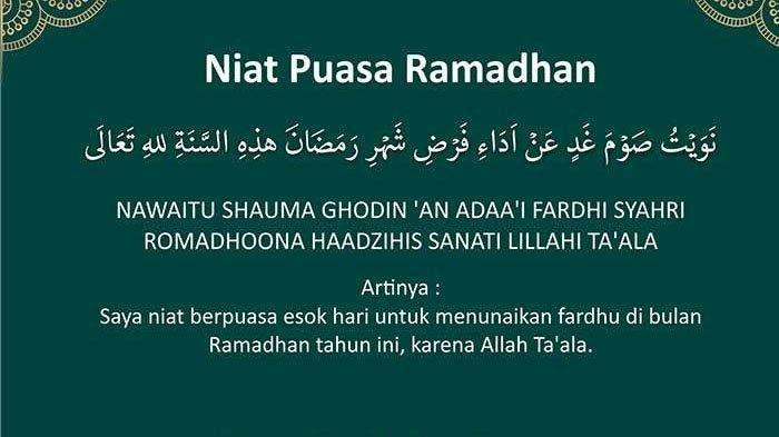 Jadwal Imsakiyah Hari ke-12 Ramadan Disertai Niat Berpuasa