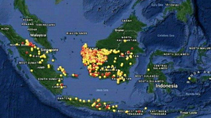Inilah 5 Fakta Kebakaran Lahan di Kalimantan Barat, Kualitas Udara Memburuk