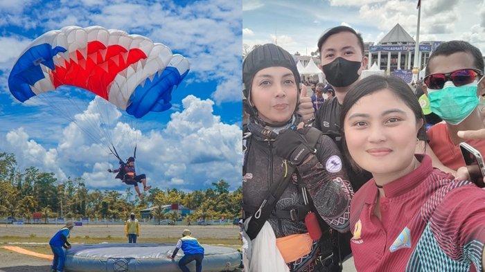 Pingkan Mandagi Raih Perak untuk Sulut dari Nomor Ketepatan Mendarat PON XX Papua