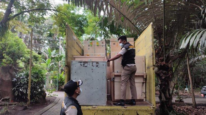 Dok. Karantina Pertanian Manado dan BKSDA Sulut mengembalikan ratusan satwa endemik Papua ke habitat asalnya.