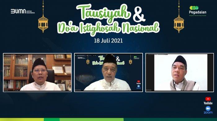 Pegadaian Gelar Doa Istighosah Nasional untuk Indonesia