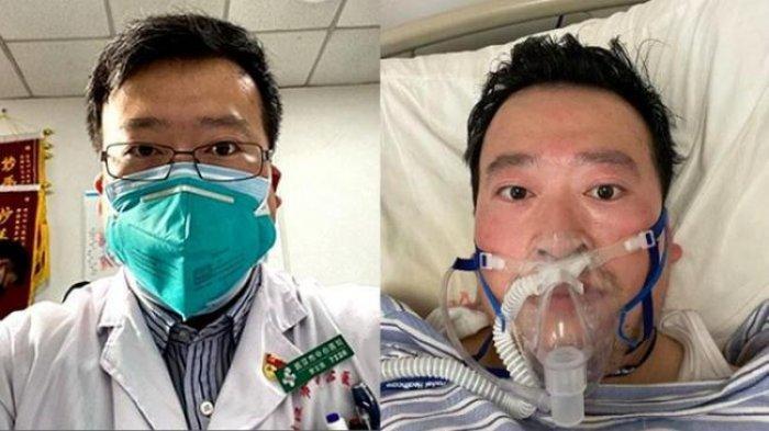 VIRAL Puisi Terakhir Dokter Li Wenliang, PenemuWabah Corona Wuhan:Aku Tidak Ingin Menjadi Pahlawan