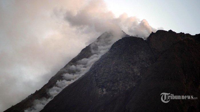 INFO TERBARU Gunung Merapi, Awan Panas Guguran Terjadi Sejak Tadi Dini Hari Hingga Pagi Ini