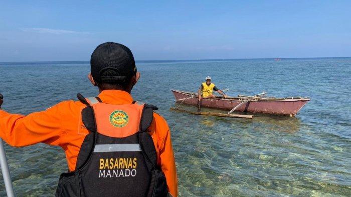 Michael Sasuwuhe Belum Ditemukan, Seorang Nelayan di Likupang Temukan Lelaki Terapung